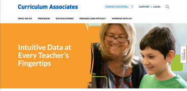 Curriculum Associate's i-Ready information page.